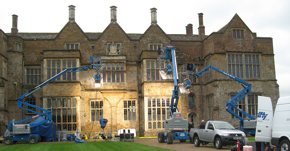 Filming Locations at Broughton Castle